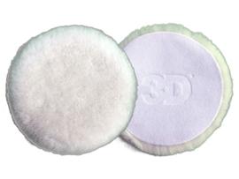 3D White Premium Lamb Wool pad 5.1″