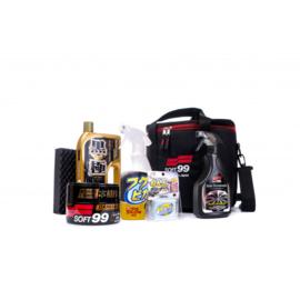 Soft99 Basic kit + opbergtas (dark & black)