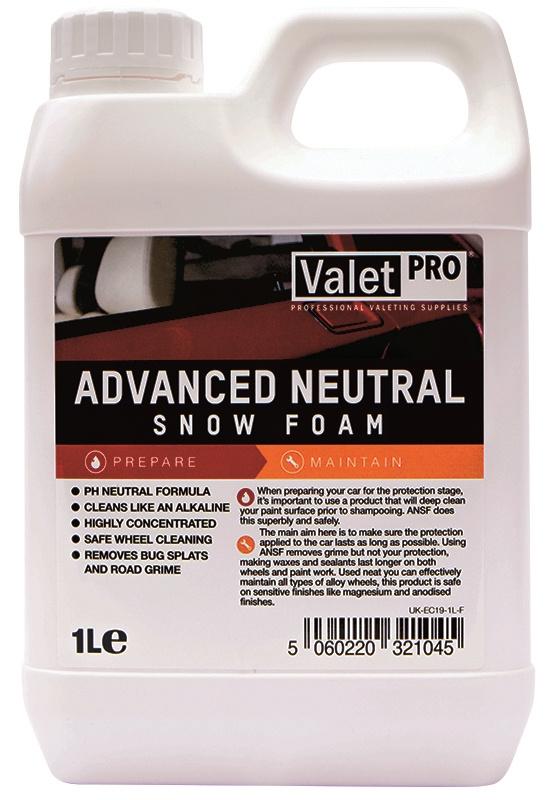 Valet Pro Advanced Neutral Snow Foam