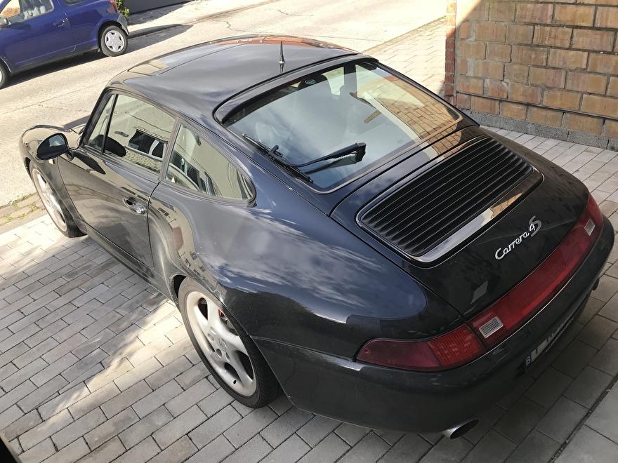 Porsche Carrera 4S bij aanvang