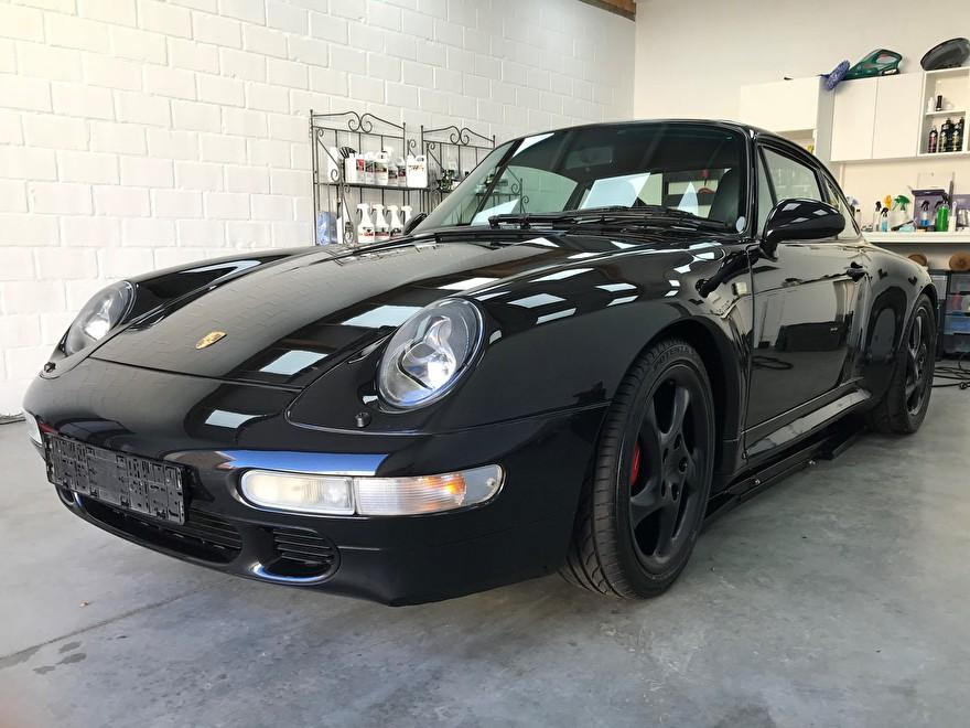Porsche Carrera 4S afgewerkt