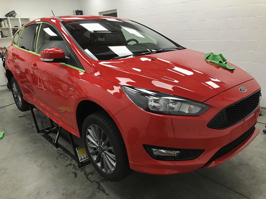 Ford Focus ST-Line Klaar voor polijsten