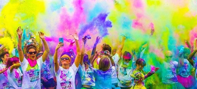 Holi-King Color Run Het Goede Doel