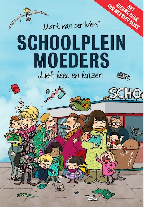 Schoolplein moeders