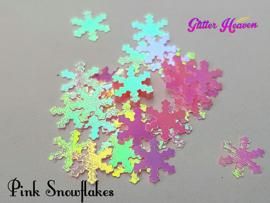 Pink Snowflakes 6-7 gram