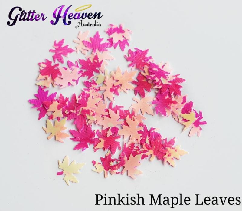 Pinkish Maple Leaves 7-8 gram