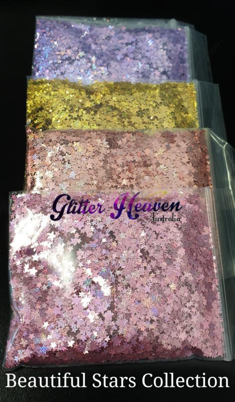 Beautiful Stars collection 5x 10 gram