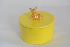 Noi Hamburg voorraadpot geel bambi