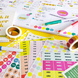 Studio Stationery sticker book