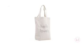 Hello Lovely cotton bag