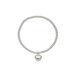 "Armband ""Silver Heart"" silverplated"