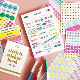 Studio Stationery sticker book