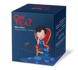 Or tea? Duke's Blues sachets