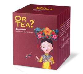 Or tea? Queen Berry sachets