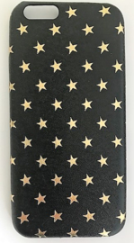 "I phone case ""Stars"" zwart 6/S  7"