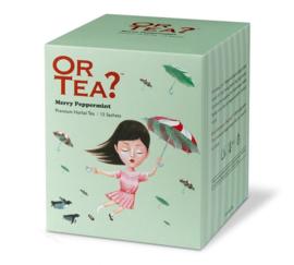Or  tea? Merry peppermint sachets