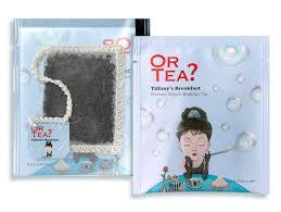 Or tea? Tiffany's Breakfast sachets
