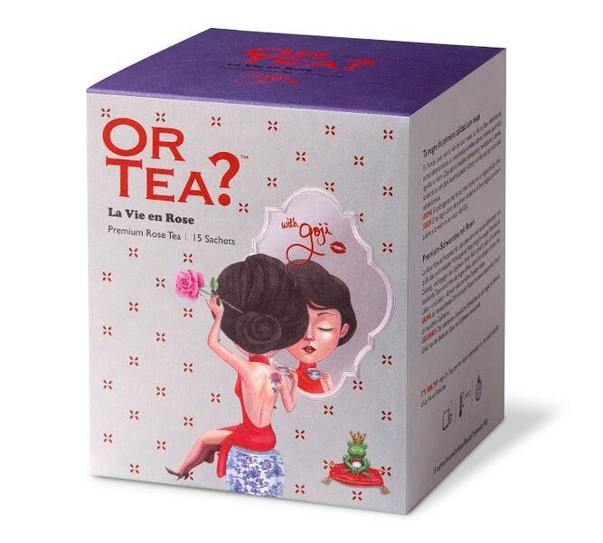 Or tea? La vie en rose sachets