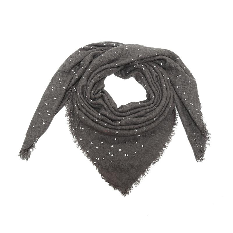 sjaal triangel glitter