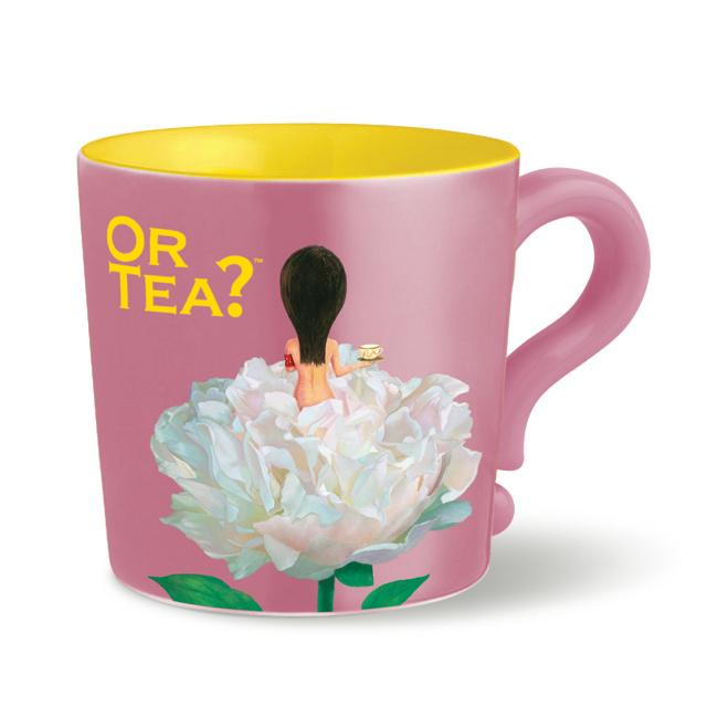 Or tea? Mok Pink  white peony