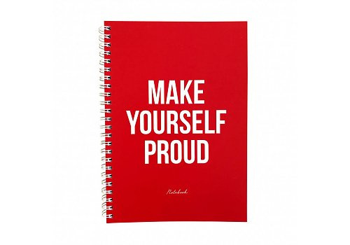 "Studio Stationery  ""make yourself proud"""