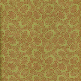Kaffe Fassett Collective Aboriginal Dots GP71.OLIVE