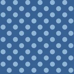 Adlico Maywood Studio Kimberbell Basics Dots MAS8216-BB Blue