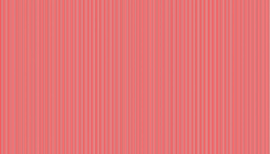 Makower Basics Pinstripe 2088-R Red Christmas 2019 Festive