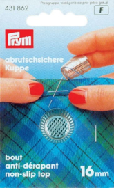 Prym 431 862 metalen vingerhoed 16mm