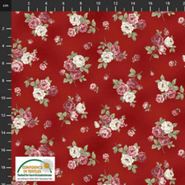 Stof rozen Kelly Roses 4501-486