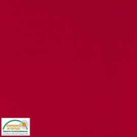 Stof Fabrics Swan Solid 150 breed 12-445 rood
