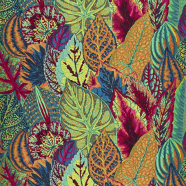 Kaffe Fassett Collective for Free Spirit Coleus PWPJ030.GREEN Fall 2017