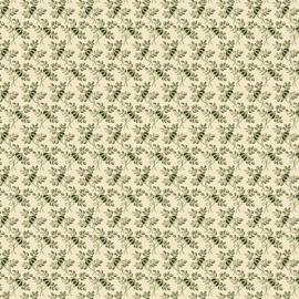 QB Fabrics Benartex Marseille Bourse Green 1721-40