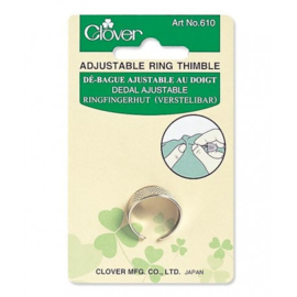 Clover 610 adjustable ring thimble