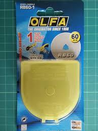 Olfa reservemes 60mm