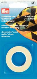 Prym 611 331 kleermakers quiltband/tape zelfklevend 6mm