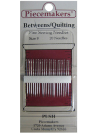 Piecemakers naalden betweens-quilting size 08