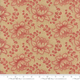 Moda Minick&Simpson Farmhouse Reds Tan Red 14850-12