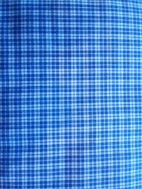 Westfalenstoffe W4170800 Karo ruit blau-weiss