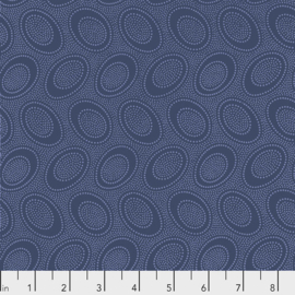 Kaffe Fassett Collective Aboriginal Dots PWGP071.DENIM