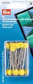 Prym 028 520 bloemenknop quiltspelden 50st. PN0015852