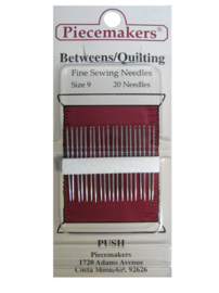 Piecemakers naalden betweens-quilting size 09