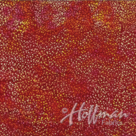 Stof Hoffman batik Bali Dots 3019-205