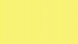 Makower Basics Pinstripe 2088-Y Lemon
