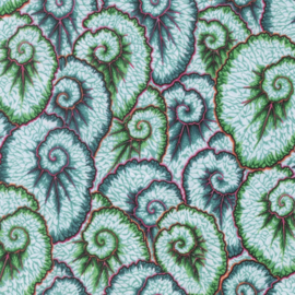 Kaffe Fassett Collective Spring 2017 Curlique PWPJ087.GREEN