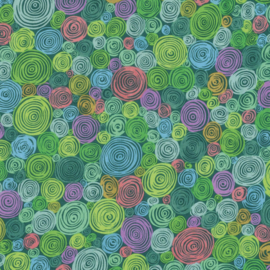 Kaffe Fassett Collective Fall 2016 Rolled Paper PWGP158.GREEN