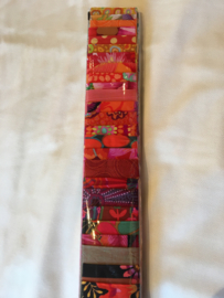 Jelly-strip Kaffe Fassett rood