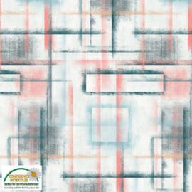 Stof Batik Colour Brush 4501-250
