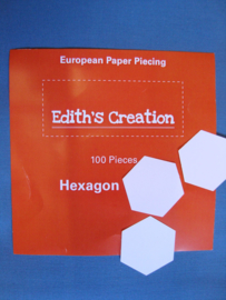 Edith's Creation of Fabbies Hexagon 2 inch