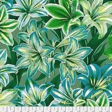 Kaffe Fassett Collective August 2020 Amaryllis PWPJ104.GREEN